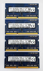 4GB DDR3L 1600MHz Laptop RAM Hynix ~ PC3L-12800S SODIMM Memory 1Rx8 1.35v 204pin