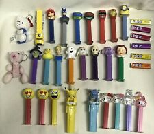 Lot Of 27 Pez 1998 Pokemon Pikachu Hello Kitty Marvel DC Disney Princess TMNT PR