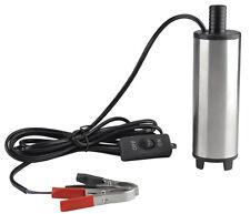 pompa sommersa 12 24 volt dc per acqua diesel olio travaso liquidi