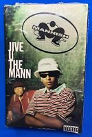 Mannish ‎– Jive U The Mann | Cassette Tape Single 1996 Sealed RARE Hip Hop Rap