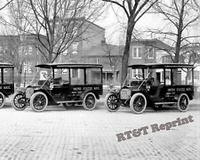 Photograph  Vintage Mail Delivery Trucks Year 1915 circa  8x10