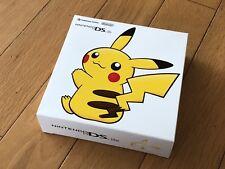 Nintendo DS Lite Pikachu Edition Limited Pokémon Center NIB