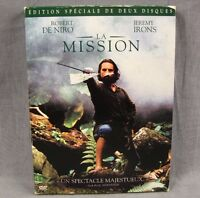 The Mission DVD Robert DeNiro French Language Jeremy Irons 2-discs