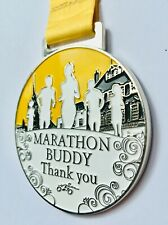 ' Marathon Buddy ' Medal - to say a big thank you for all their support