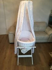 Silvercross Crib With Drapes