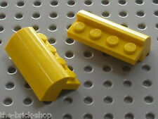 Lego yellow brick curved top ref 6081/set 4888 8292 7666 3221 3826 7631 6561...