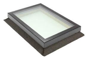 ALUMINIUM FRAMED TRIPLE GLAZED LAMINATED SKYLIGHT ROOFLIGHT WINDOW 800 x 1800mm