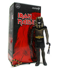 Super7 ReAction IRON MAIDEN Blind Box Series POWERSLAVE Black Obsidian 3 3/4""