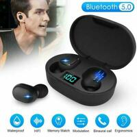 Bluetooth 5.0 Headsets TWS Wireless Earphone Mini Earbud Stereo Headphone K2J5