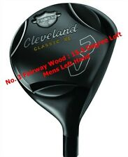 CLEVELAND CLASSIC XL FAIRWAY WOOD - NO. 3 - REG FLEX - MENS LEFT HAND - NEW