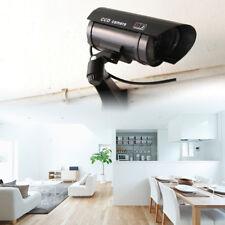 CN_ Fake Simulation Dummy Home Surveillance CCTV Camera with Red Flashing _GG