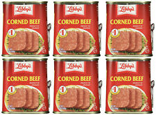 6 Cans- Libby's Find Quality Corned Beef 12 oz
