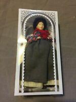 Bodo Hennig Vintage Biegepuppe / Puppe f. Puppenstube Marktfrau 6226 Ovp ~13,5cm