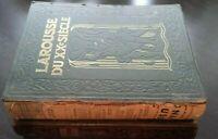 Larousse Del Xx P. Auge Siecle VOL1 +3 Stampe+Schede+Tavole 1928 Parigi ABE