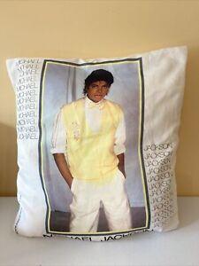 Vintage Michael Jackson 1983 pillow