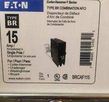 10 PCS Eaton BRCAF115 AFCI combo BR 15 amp arc fault circuit breaker