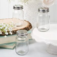 60 DIY Clear Glass Mason Treat Jars Wedding Shower Party Gift Favors