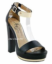 Women High Thick Heels Wedge Platform Ankle Strap Sandals Gold Pleated Shoes
