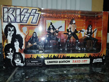 Kiss figures limited edition Band set, new in box!