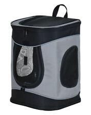 TRIXIE Rucksack Timon 34 x 44 x 30 cm schwarz/grau bis 12 kg für Hunde Katzen
