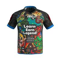 IAS Indigenous All Stars 2017 On Field Jersey Size Kids 8 ONLY! NRL