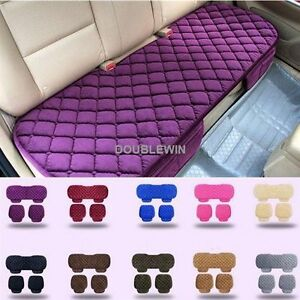 Universal Front Rear Car Seat Cushion Auto Fashion Chair Mat Decorate Warmer Pad
