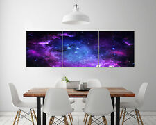 "3pcs 16"" Abstract Wall Decor Art Oil Painting on Canvas NO frame Space Stars 195"