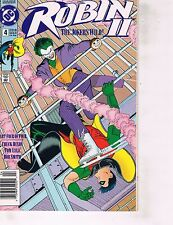 Lot Of 2 DC Comic Books Robin II #4 and G.I. Joe Front Line #1 ON4