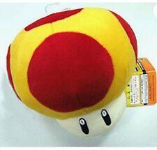 SUPER MARIO BROS. FUNGO ARANCIONE PELUCHE 15Cm Power Up Mushroom Toy Plush 1up