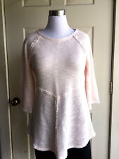 NWOT CALVIN KLEIN PERFORMANCE COTTON BLEND LIGHT PINK CASUAL TOP SIZE XL