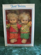 Just Twins Soft Baby Dolls 1986 In Box