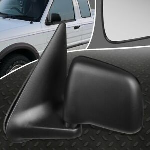 FOR 94-02 MAZDA B2300 B3000 RANGER OE STYLE MANUAL LEFT SIDE VIEW DOOR MIRROR