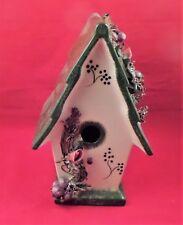 Decorative Ceramic Birdhouse-A Beauty