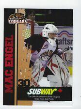 2012-13 Prince George Cougars (WHL) Mac Engel (goalie)