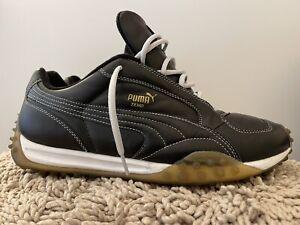 Puma Temo Soccer Sneakers, 144690 20, Black / White, Mens Size 13