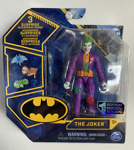 DC Comics The Caped Crusader 1st Edition Joker Figure Collectable & New