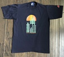 Vintage Nike Lilac Bloomsday Race T-Shirt Size Small 1983