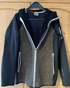 Ortovox Herren Hoodie Fleece plus classic knit XL schwarz
