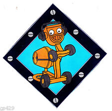 """3.5"""" Bob the builder cement truck peel & stick wall border cut out character"""