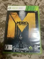 Xbox360 Metro Last light CERO rating Z Chunsoft Xbox 360 Japan Import