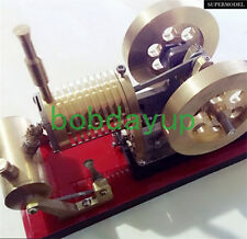 Hot Air Flame Licker Eater Stirling Engine Model Electricity Toy New TZ03 B