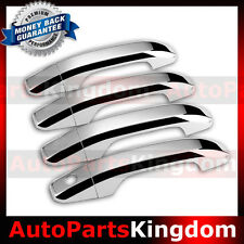 2014-2016 GMC Sierra+HD Chrome Triple plated 4 Door Handle Cover kit set 16 15