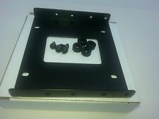 """2.5""""- 3.5"""" HDD mounting adapter bracket for SSD HDD rubber shock absorber  screw"""