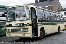 Wrights, Wrexham MTV752P on loan from Nottingham Bus Photo Ref P910