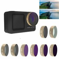 CPL UV STAR ND4 ND8 ND16 ND32 Camera Lens Filter for DJI OSMO Action Camera New
