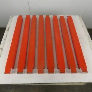 "36"" Deep Interlake Style Pallet Racking Deck Pallet Support Bars Lot Of 8"