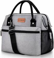 Lunch Bag Insulated Lunch Box for Women Men, Reusable Lunch Bag with Adjustable