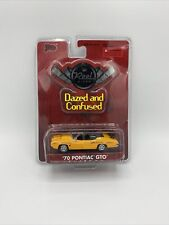 "Malibu Reel Rides 1:64 ""Dazed & Confused"" Orange 70 Pontiac GTO"