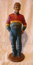 """Rare Tom Clark Jeff Gordon Statue Figurine 1999 #6605 Mib 13"""" W/Storycard"""