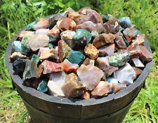 500 Carat Lot Natural Rough Fancy Jasper, Raw Gemstone Cabbing Rocks, 100 Grams